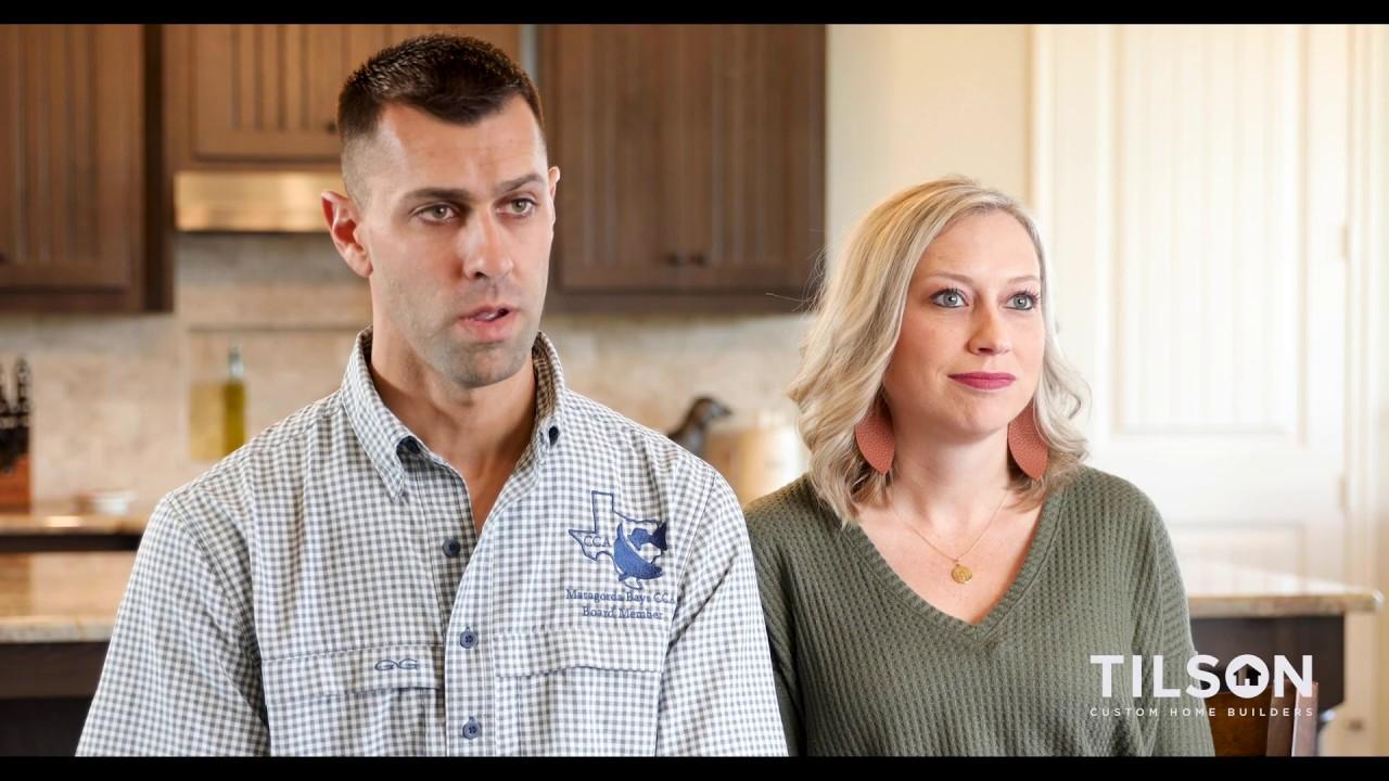 Tilson Home Customer Testimonial by Cassidy and Chris B.| Garwood, TX