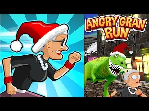 Angry Gran Run #3 - Atualização de Natal / Christmas Village