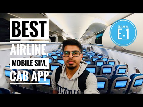 India to Sri Lanka Travel Guide, Best Airline, SIM, Taxi | Sri Lanka Travel Vlog | Desi Tourist