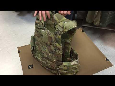 Обзор американского контрактного бронежилета Modular Scalable Vest (MSV) Review