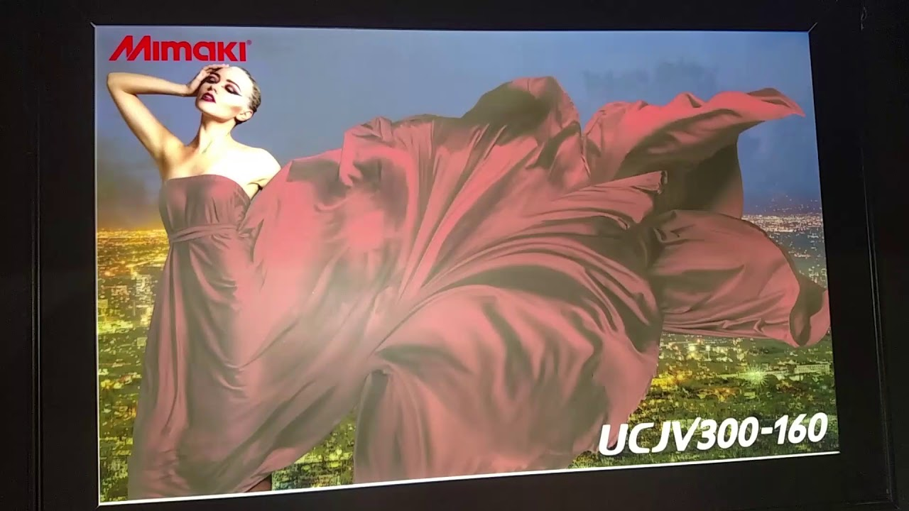 Mimaki UCJV UV Roll to Roll  Day and night printing