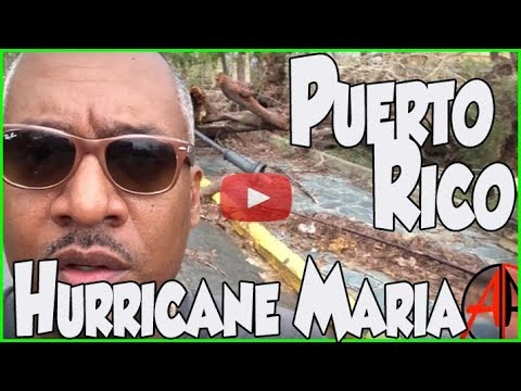 Documentary - Puerto Rico after Hurricane Maria with no cell service, no electricity and no water