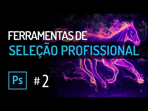 Curso De Photoshop #2 SELEÇÃO - SELECTION TOOLs - Tutorial Photoshop Online