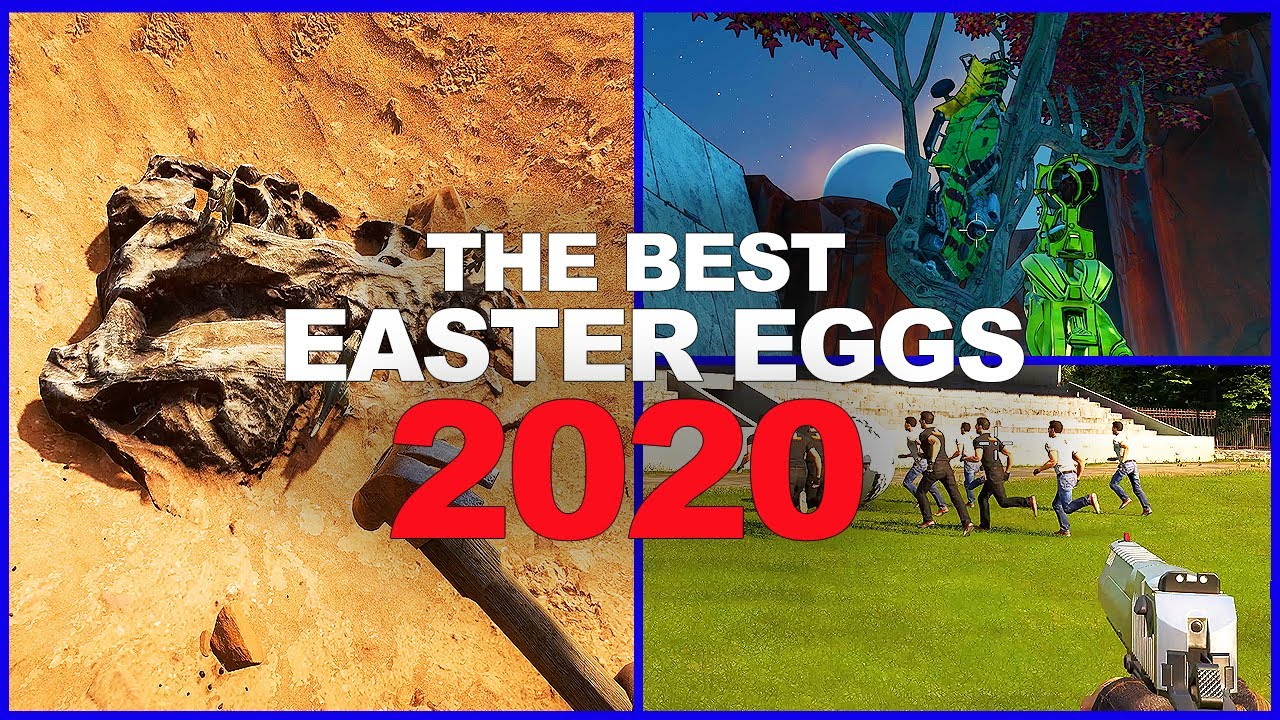 The BEST Video Game Easter Eggs Of 2020 - Part 2