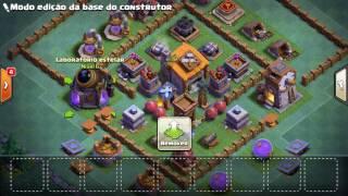 Layout sensacional para casa do construtor nível 6! - Clash Of Clans