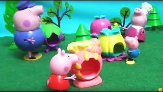 Мультфильм 🔴Peppa Pig🔴  Свинка Пеппа. Улья для пчел(Peppa Pig свинка Пеппа и ее семья. Мультфильм для детей. Мультики Игрушками. Улья для пчел. Спасибо за ЛАЙКИ..., 2016-01-28T01:35:59.000Z)