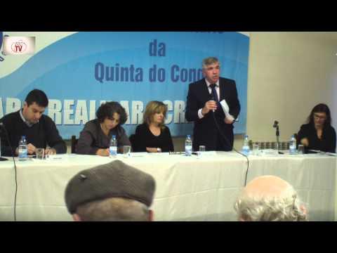 Intervenção de Vítor Antunes Pres JF Quinta do Conde - Por uma Lar de Idosos na Qta Conde