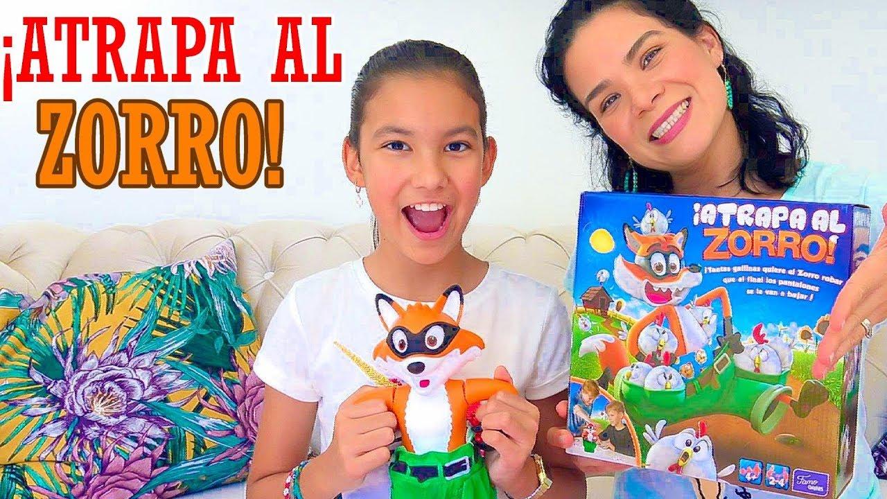 Atrapa Al Zorro Ananana Toys Youtube