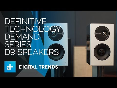 Definitive Technology Demand Series D9 Speakers - Hands On Review