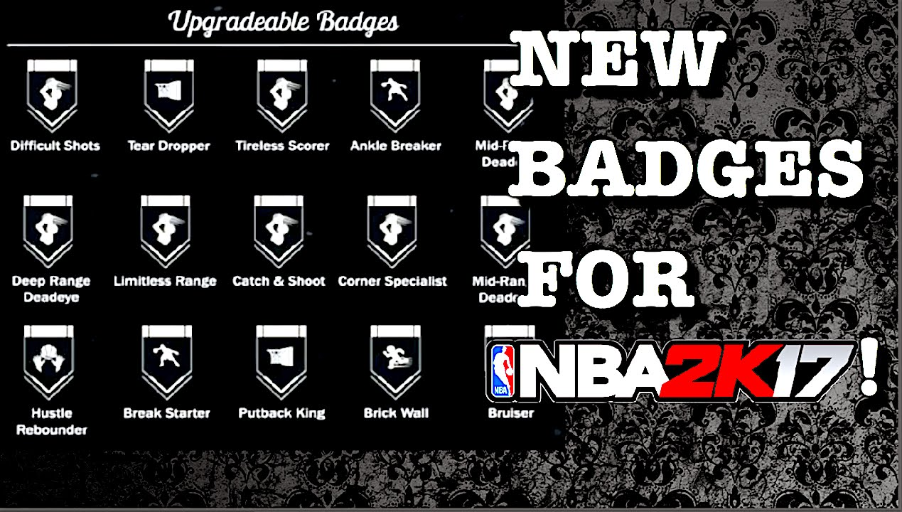 all 2k17 badges related