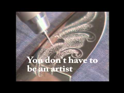 Learn Knife Engraving, Metal Engraving, Wood carving, Glass etching  How to Power Carver Etch