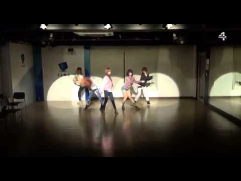 4MINUTE   오늘 뭐해 Whatcha Doin' Today Choreography Practice Video  Girls Only
