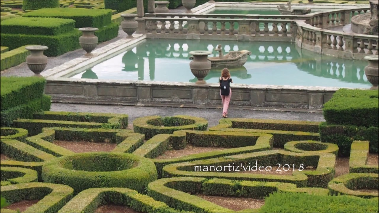 Villa lante bagnaia fontana del quadrato o dei mori - Giardino all italiana ...