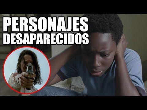 PERSONAJES DESAPARECIDOS Y QUÉ PASÓ CON ELLOS - The Walking Dead Temporada 8