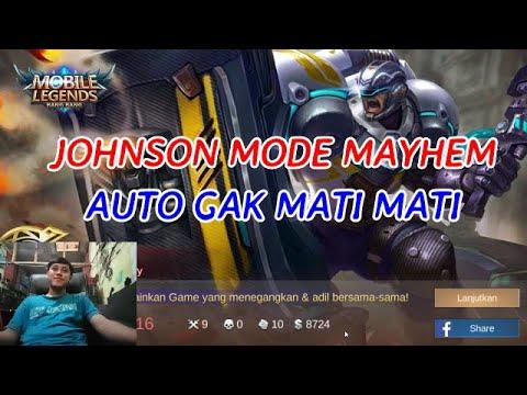 Ketika Johnson Main Mode Mayhem