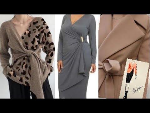 Одежда на запах для женщин за 50.весна 2020.
