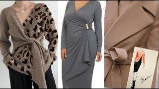 Одежда на запах для женщин за 50 весна 2020