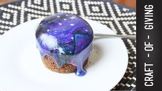The EASIEST Galaxy Cupcakes | Craft of Giving