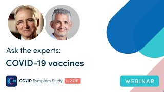 Ask the Experts: COVID-19 Vaccines