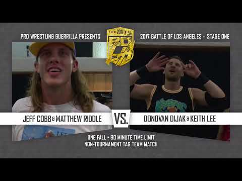 PWG - Preview - 2017 Battle of Los Angeles - NIght One