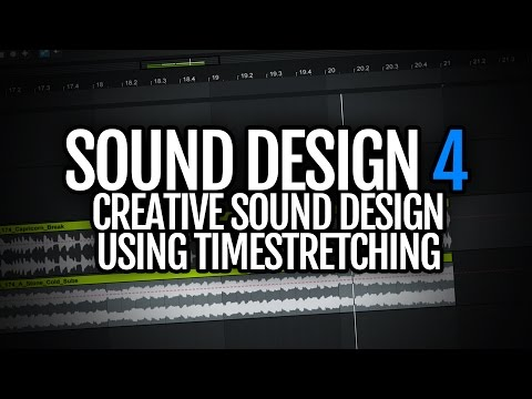 Creative sound design using timestretching! - Sound Design Saturday