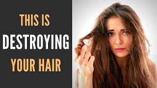 Hair Mistakes // STOP DESTROYING your hair with these simple tips!