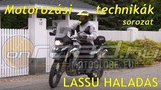 Motorozási technikák, 3. rész: A lassú haladás - Onroad.hu