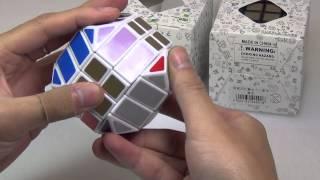 00168 蓝蓝四阶菱边十二面体