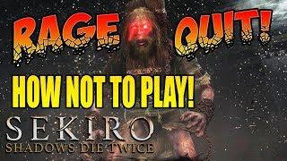 Sekiro Shadows Die Twice - OGRE RAGE QUIT! (#4)
