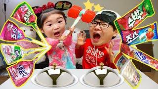 Real Ice Cream VS Candy Boram y Conan juegan heladería