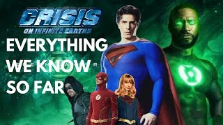 EVERYTHING We Know About Crisis on Infinite Earths (so far)