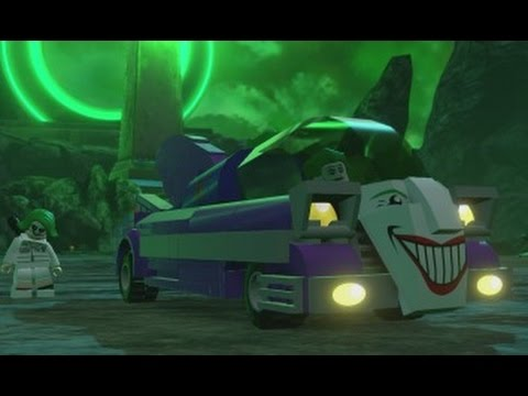 LEGO Batman 3: Beyond Gotham - All Land Vehicles in Action - YouTube