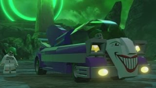 LEGO Batman 3: Beyond Gotham - All Land Vehicles in Action