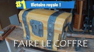 faire le coffre FORTNITE / make the chest FORTNITE / hacer el cofre de FORTNITE