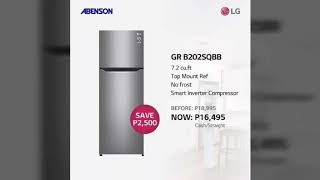 LG REFRIGERATOR - NO FROST FRE…