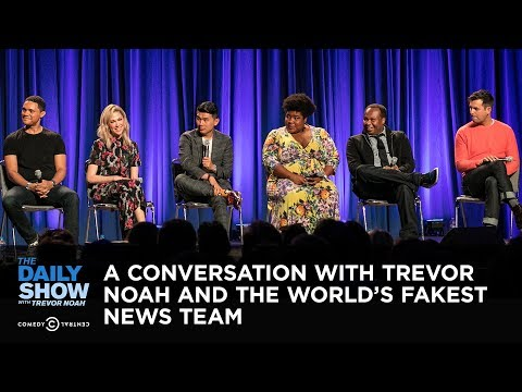 The Daily Show LIVE: A Conversation with Trevor Noah and the World's Fakest News Team
