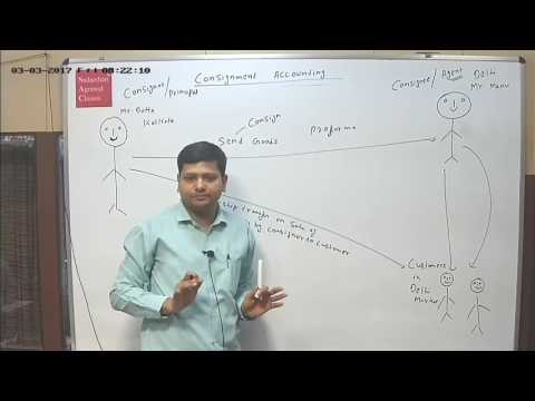 CPT, CMA/CS-Foundation - Consignment Accounting by CA. Babloo Dutta