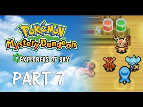 Pokemon Mystery Dungeon: Explorers of Sky [BLIND] Part 7 - MT. BRISTLE SUCKS
