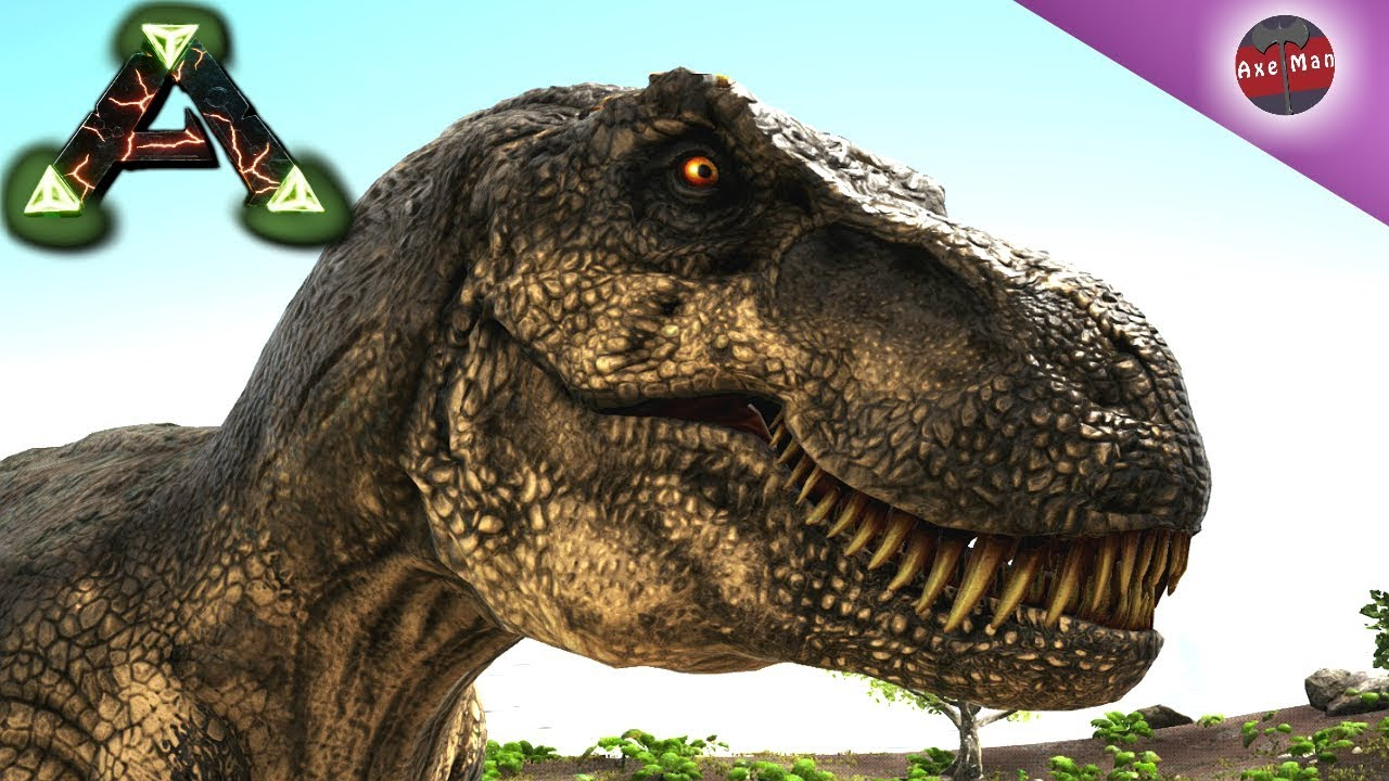 Taming A Jurassic Park T Rex Is No Joke Ark Survival Evolved