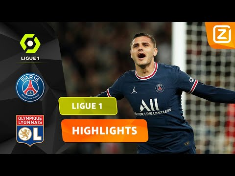 GOUDEN WISSEL ICARDI! 🤩   PSG vs Lyon   Ligue 1 2021/22   Samenvatting