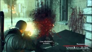 Sniper Elite: Nazi Zombie Army Gameplay PC HD