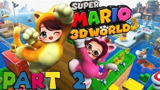 Super Mario 3D World | Part 2 | Who will get the crown?