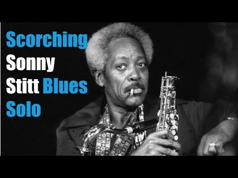 Blistering Sonny Stitt   Blues Sax solo transcription - free pdf download