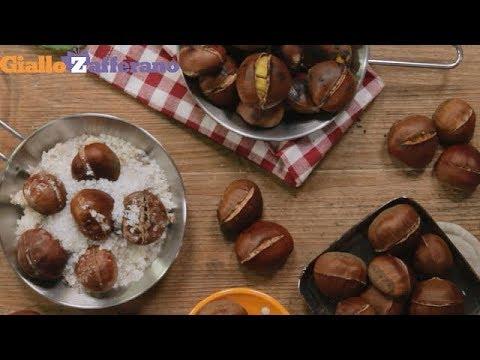 Come Cuocere Le Castagne Tutorial Youtube