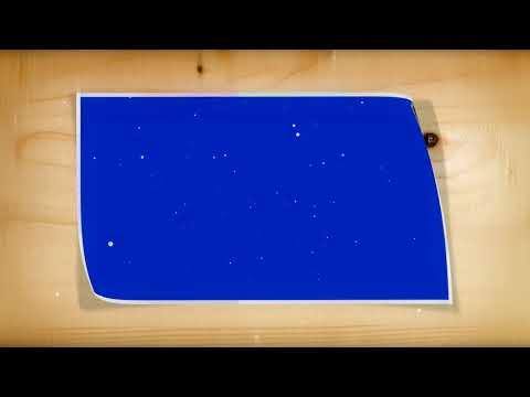 Photo Album Animation-Wedding Photo Frame Green, Blue, Black Screen Effect