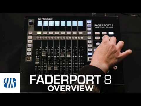 PreSonus FaderPort 8: Firmware update and overview