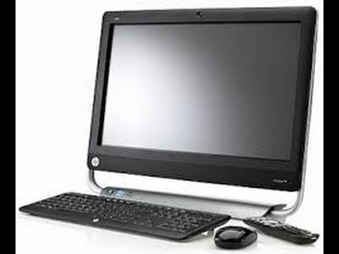 how to turn on hp touchsmart 520 pc