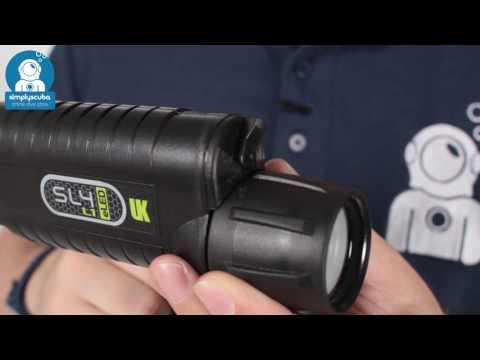 Underwater Kinetics SL4 Sunlight eled L1 UV Torch - www.simplyscuba.com