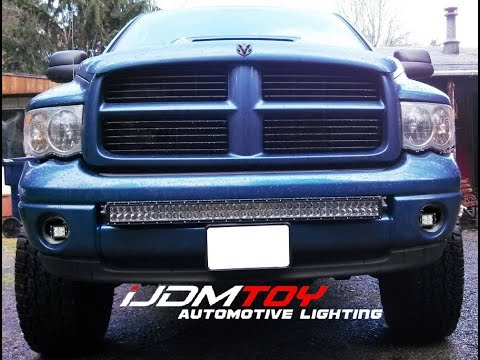 Feature Ijdmtoy S 40w Cree Led Pod Lights For The Dodge