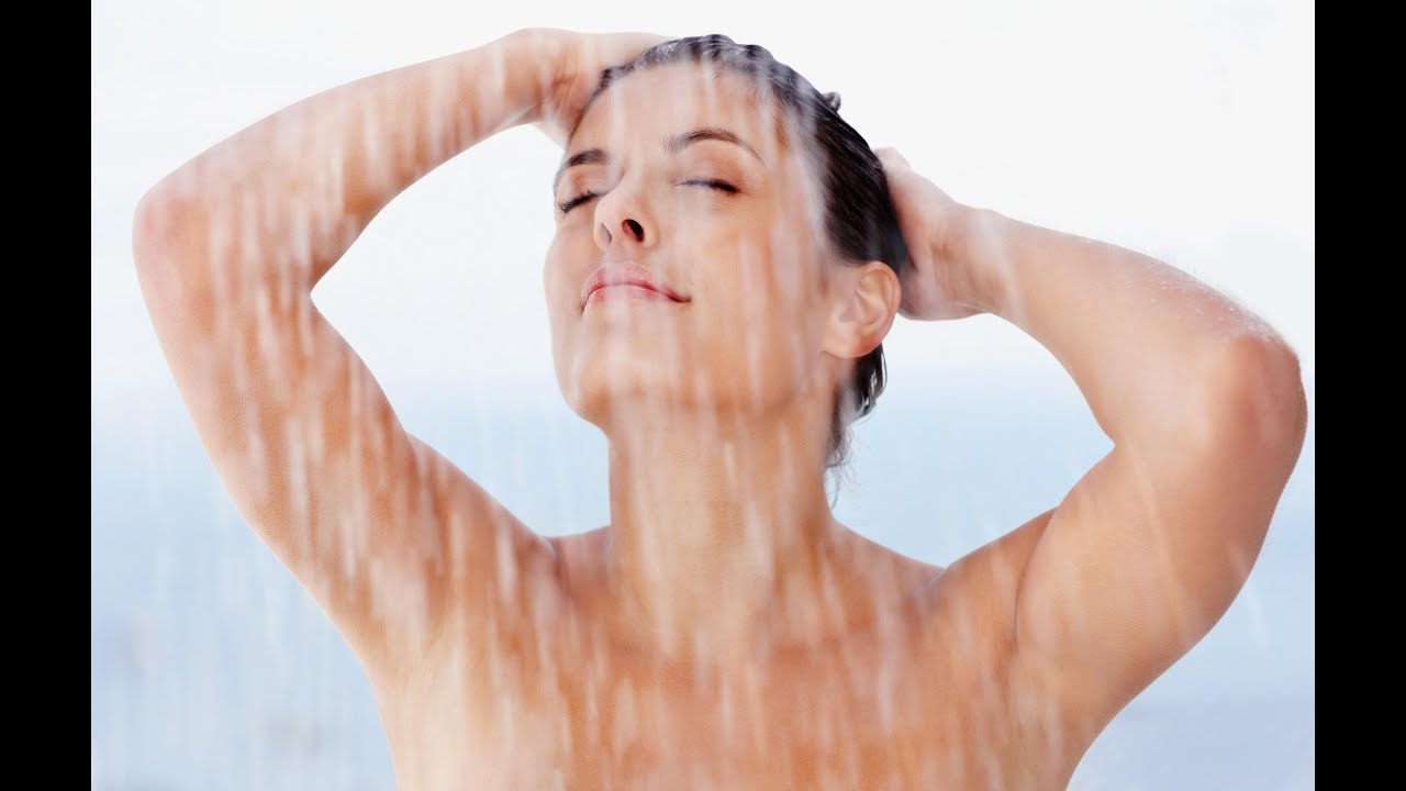 Pictures of women in the shower